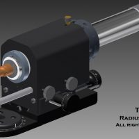 Radius Air Tool Spindle
