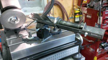 Journeyman Big Drill Sharpening attachment prototype CM-06B