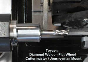 Cuttermasters 6 inch Diamond Champher wheel