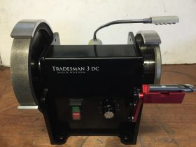 Weldon Flat Grinder  Tradesman 3DC  V Block Set up