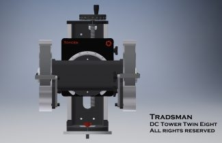 Tradesman Machinist DC Tower Bench grinder