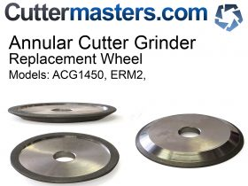 Replacement wheel for ERM2  Annular Cutter grinder Diamond  or CBN