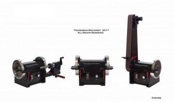 DC Belt Sander  Variable Speed – Reversing