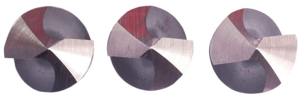 Regrind different drill point geometries