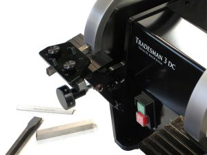 Tradesman-DC-Variable-Speed-Bench-Grinder-Feed-Rest-Micro-Adjustment