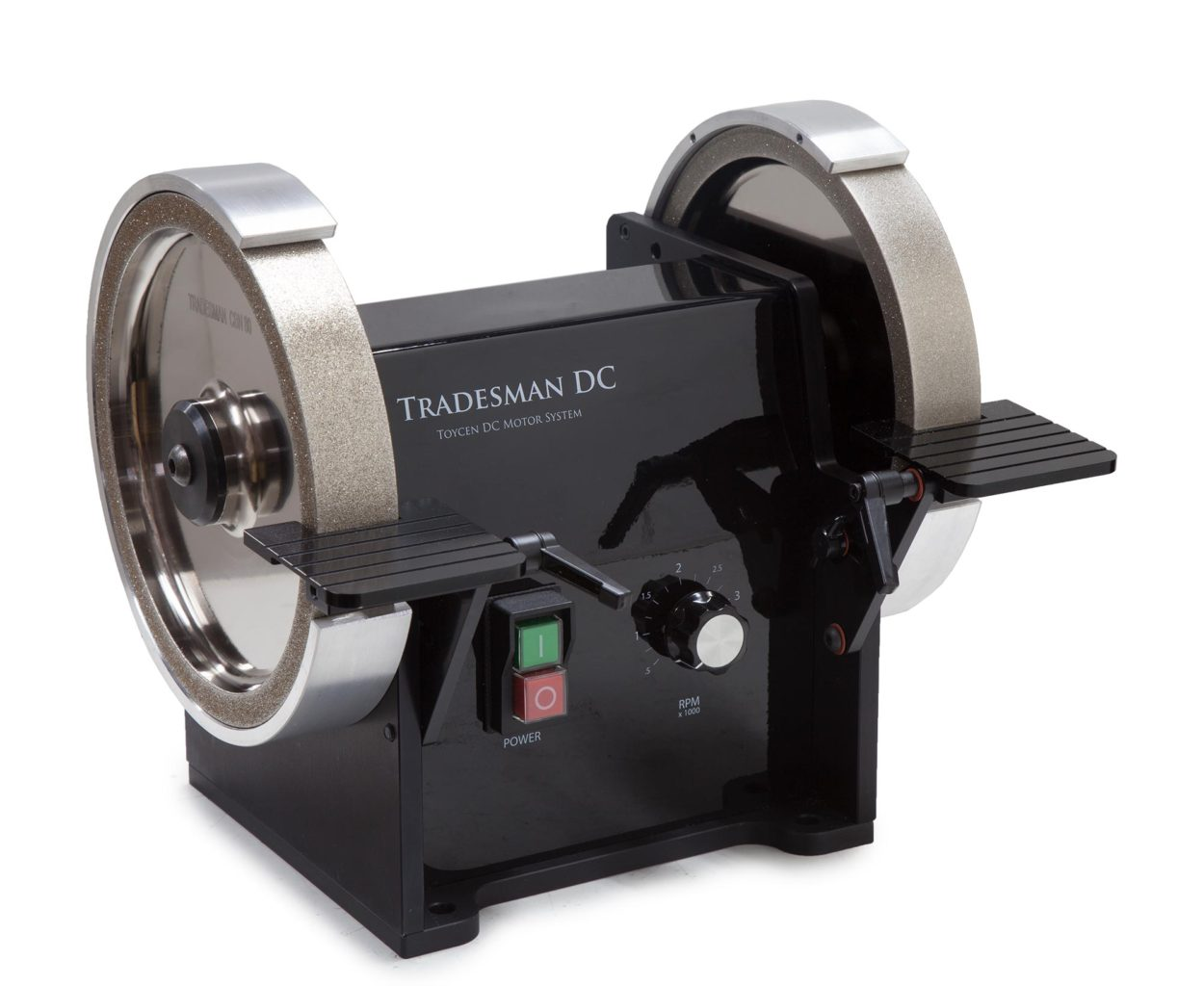 Tradesman Machinist 8 Inch Dc Precision Bench Grinder