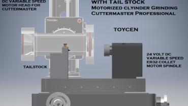 CM-01, FCG-30, MG-30 Tool Grinder Cuttermaster