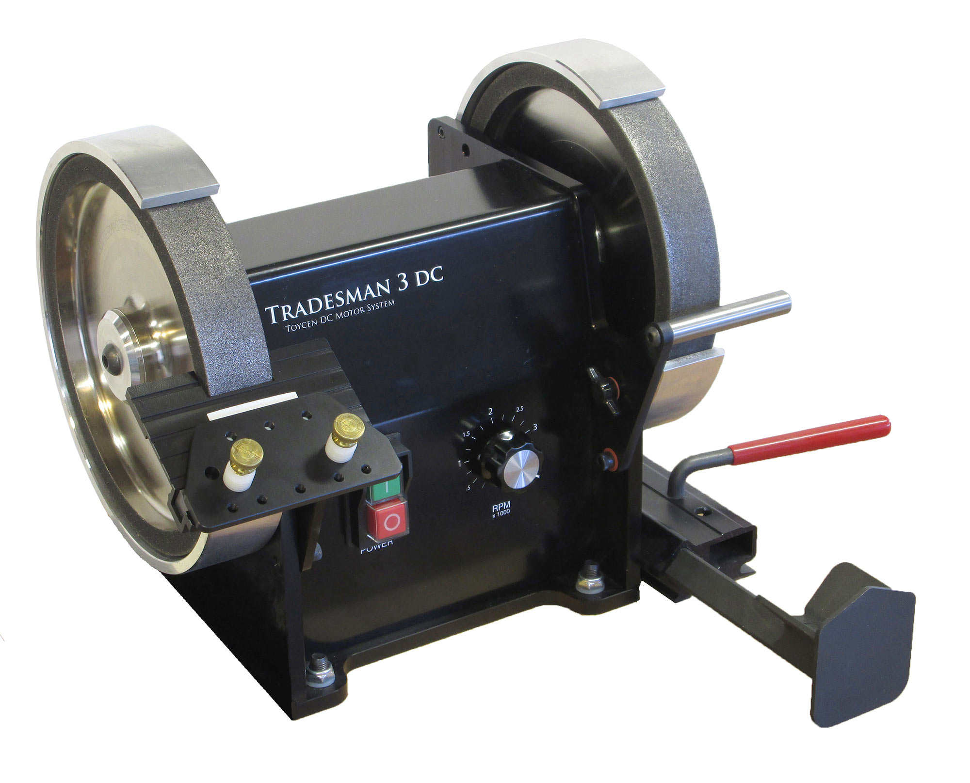 Tradesman Dc Bench Top Variable Speed End Mill Sharpener
