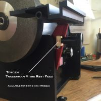 Tradesman Feed assy for Mitre rest
