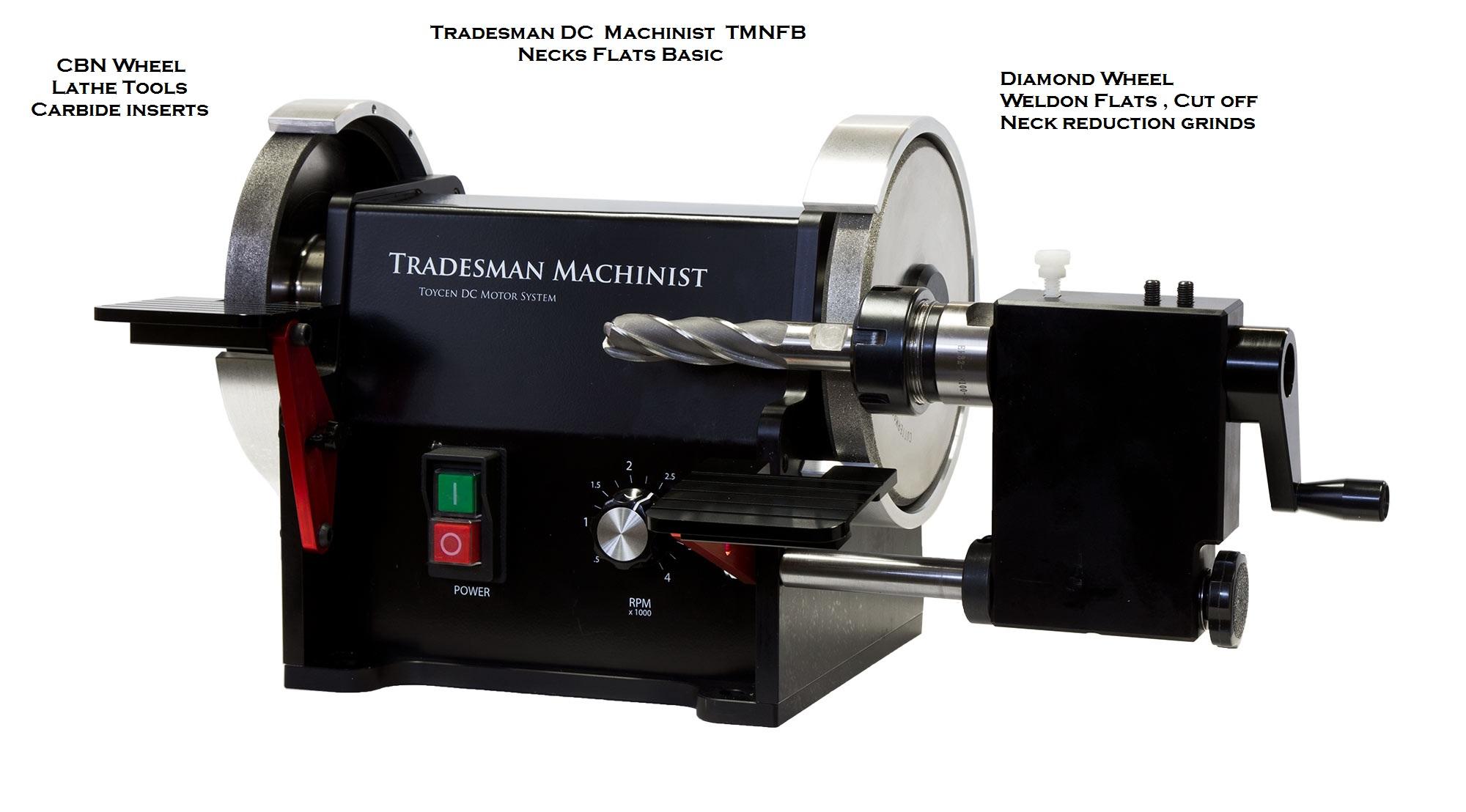 Tradesman Machinist 6 Inch Precision Dc Cuttermasters