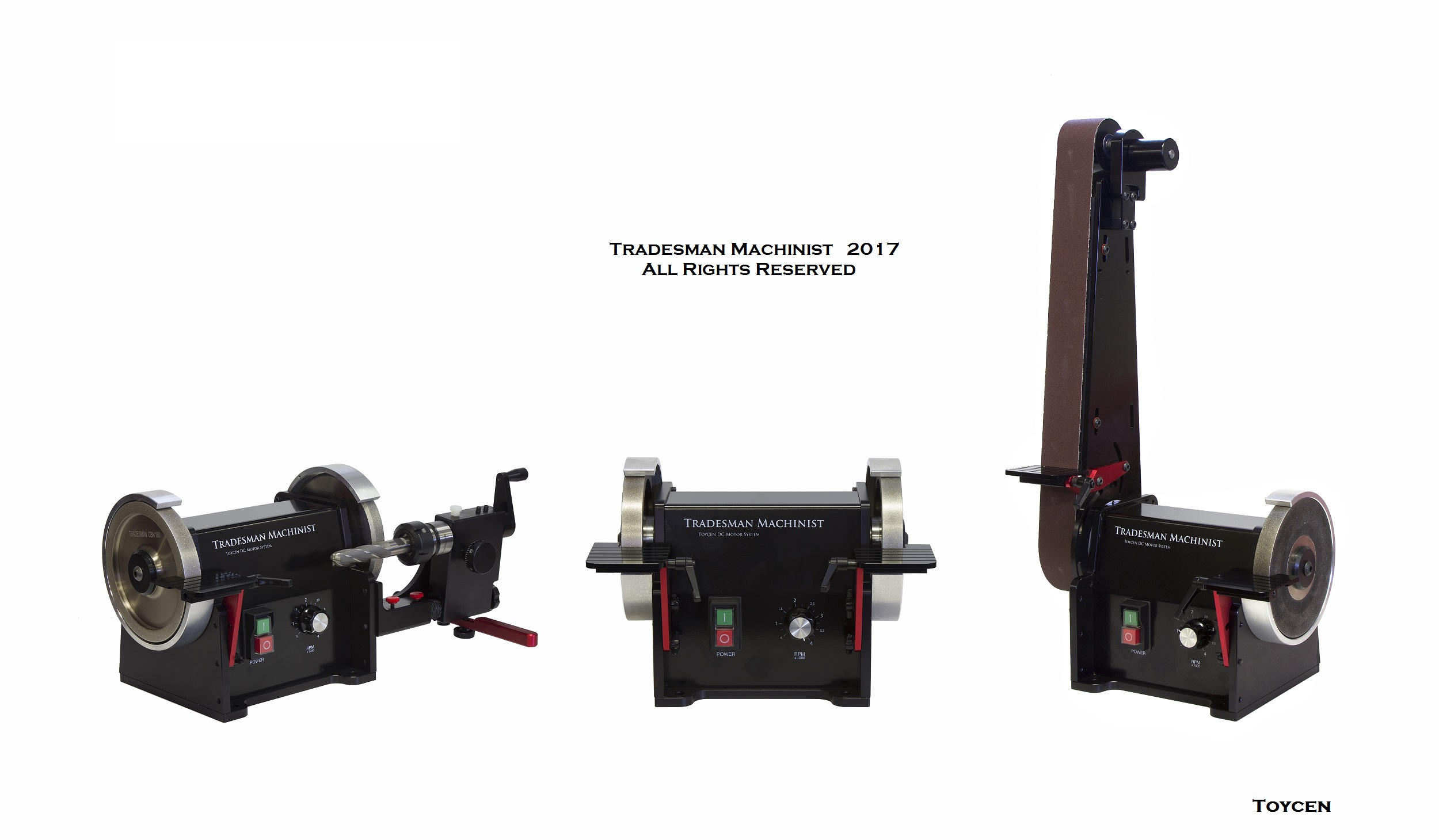 Powerful Dc Variable Speed Bench Grinder Tool Grinder Belt