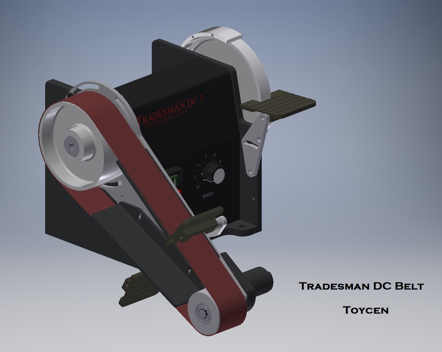 Tradesman 2 X 36 Or 48 Inch Dc Variable Speed Reversing