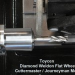 Cuttermasters Weldon Flat Wheel for carbide end mills